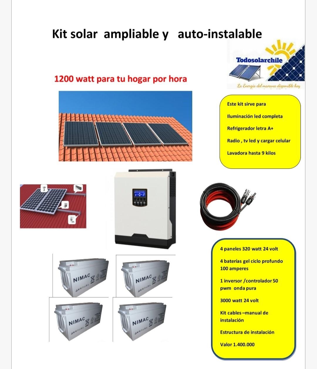 Todo Solar Chile Generaci 243 N De Energ 237 A